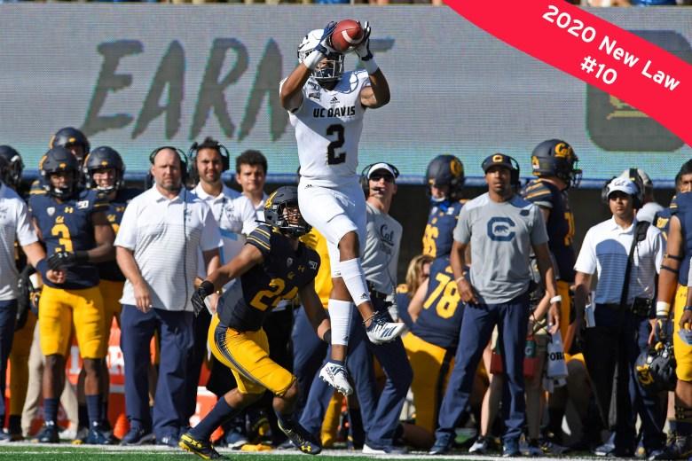Football game Cal vs. UC Davis. Photo by Jose Carlos Fajardo of Bay Area News Group.