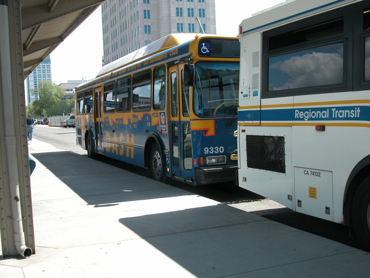 Sacramento will refit seven transit buses to serve as mobile WiFi hotspots. If the experiment is successful, it will be replicated in other parts of California, Gov. Gavin Newsom said Monday. Photo by David Wilson via Flickr.