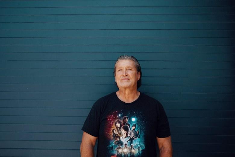 William Smith stands outside the Tarzana Treatment Center. Photo by Adam Perez for CalMatters