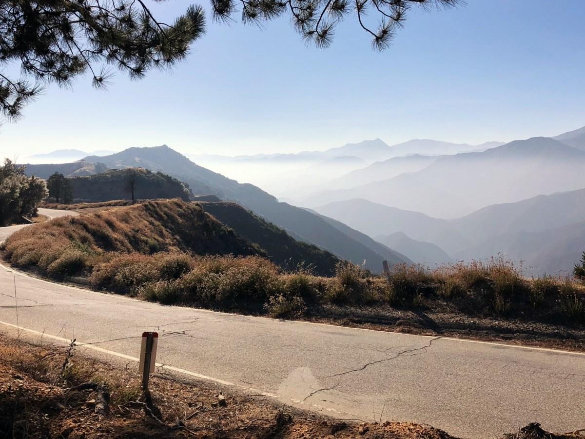 Las montañas de San Gabriel. Fotografía vía iStock