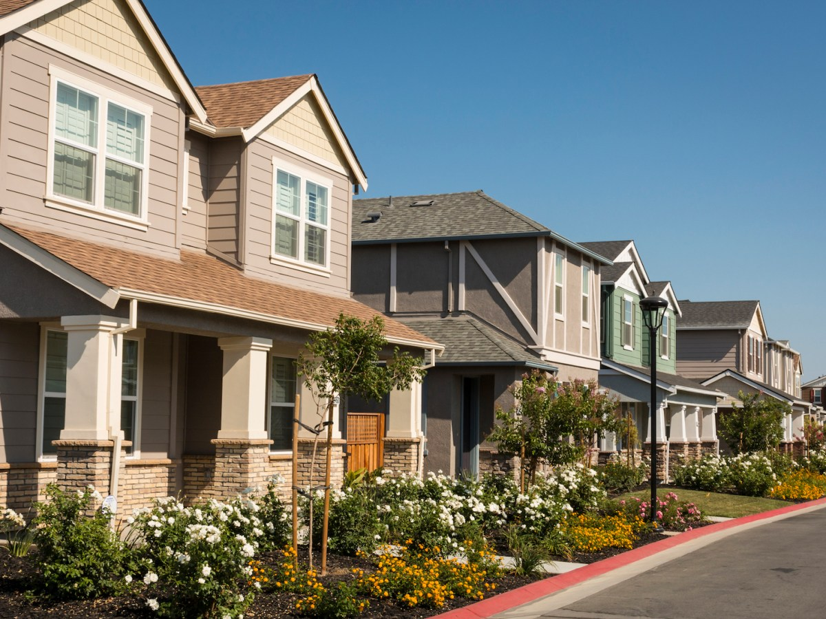 Democrats have made their largest California gains in the suburbs Image via iStock