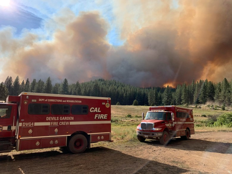 Devil's Garden Conservation Camp will close later this year leaving remote Modoc County with few resources for fighting wildfire. Photo courtesy of Cal Fire