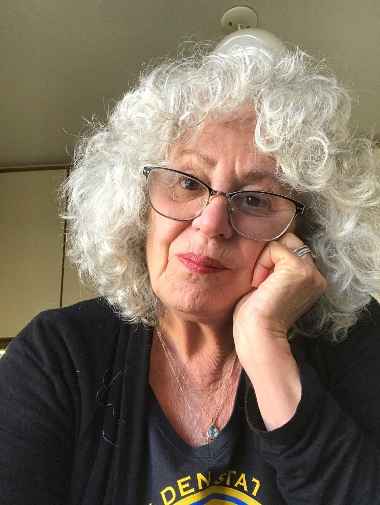 San Francisco cabaret singer Linda Kosut Lyon has spent hours on the phone trying to get a vaccine appointment but, so far, hasn't been able to get one. Photo courtesy of Linda Kosut Lyon