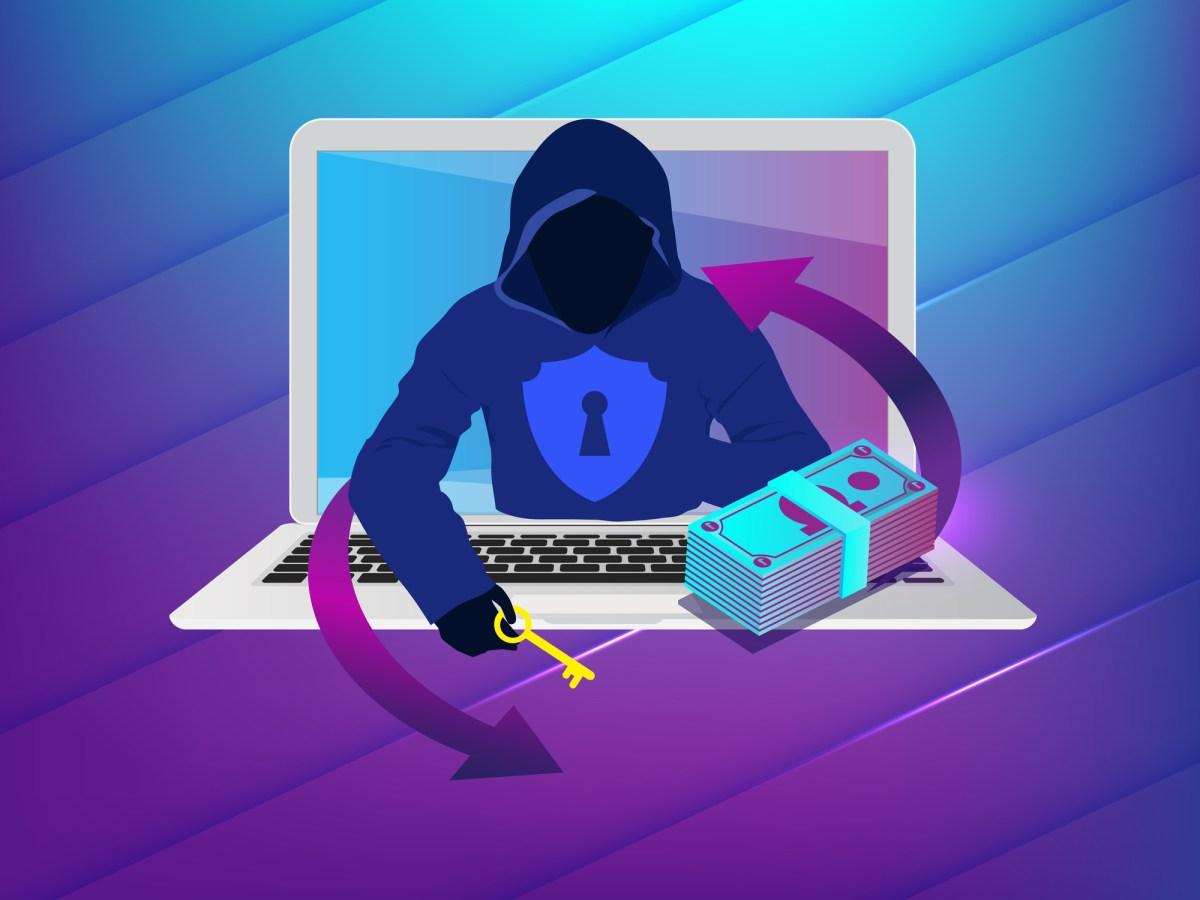 Ransomeware hacker money transfer