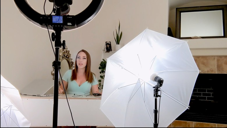 Ginny Silver of Elk Grove has turned frustration with the California Employment Development Department into a successful YouTube channel. Photo by Julia Henry, courtesy of Ginny Silver.