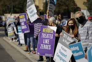 california hospital strikes