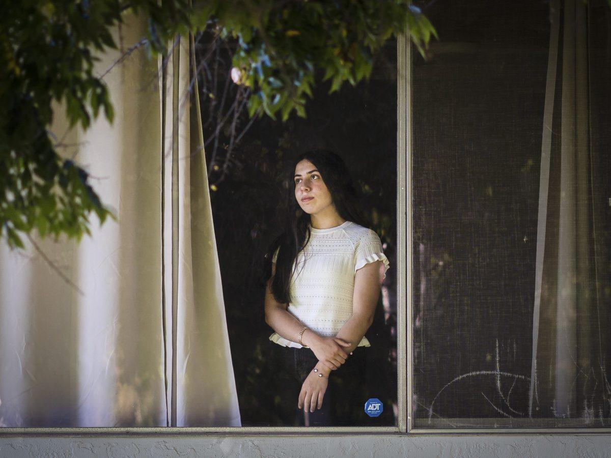 Dalal Erekat at her home in El Cajon on Oct. 14, 2021. Ariana Drehsler for CalMatters
