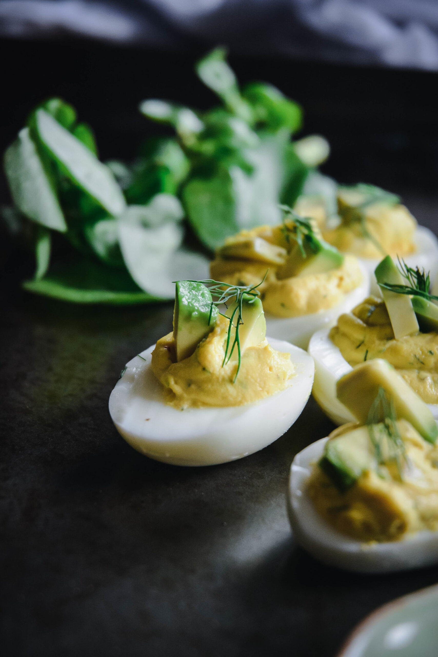 Deviled Eggs with Avocado