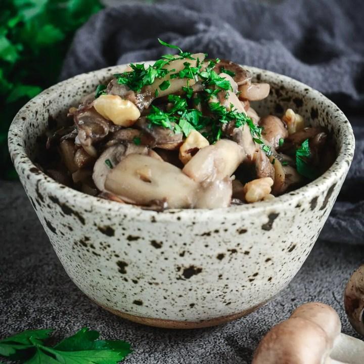 Best Dry-Sautéed Mushrooms