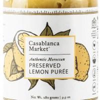 Moroccan Preserved Lemon Puree