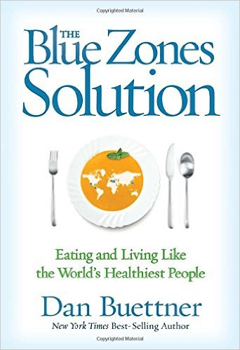 The Blue Zones Solution book review from CALMERme.com