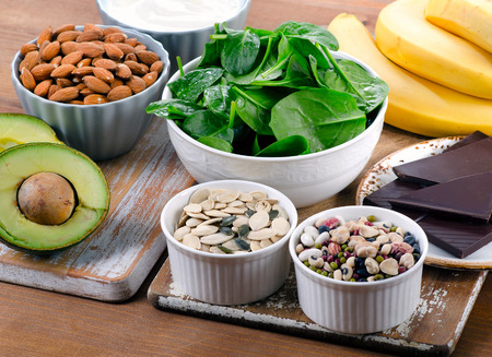 Image of foods high in magnesium from post on CALMERme.com