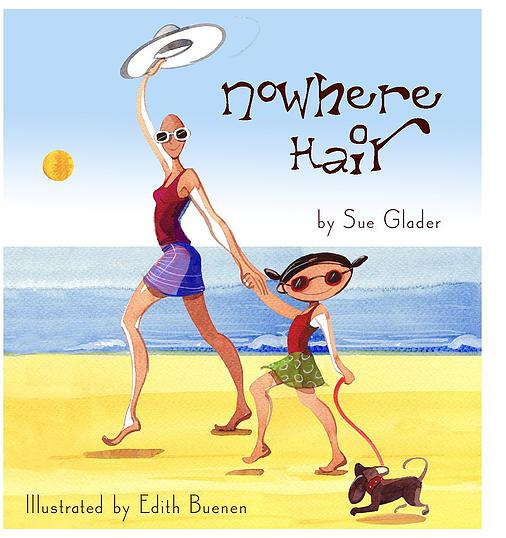 Children's book Nowhere Hair by Sue Glader from CALMERme.com review