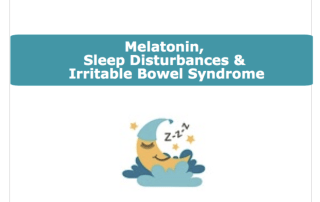 Image for melatonin & IBS blog header