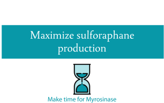 Blogheader for preparing vegetables to maximize sulforaphane production from CALMERme.com