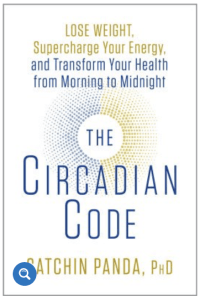 August's favorite things Circadian Code book from CALMERme.com