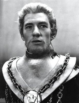 Ian McKellen playing Edward II in the Prospect Theatre 1969-70 tour