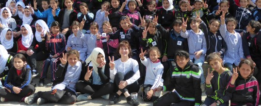 Anti bullying for kids in the West Bank – March 2017