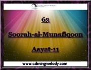 63-Soorah-al-Munafiqoon-Aayat-11