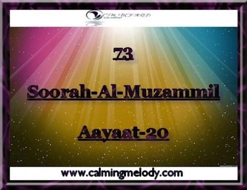 73-Soorah-Al-Muzammil-Aayaat-20