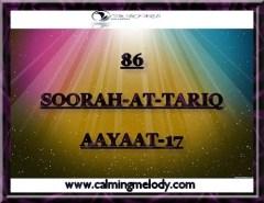 86-SOORAH-AT-TARIQ-AAYAAT-17