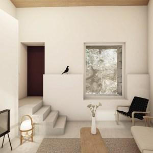 Interior of the Casa dos Maroiços