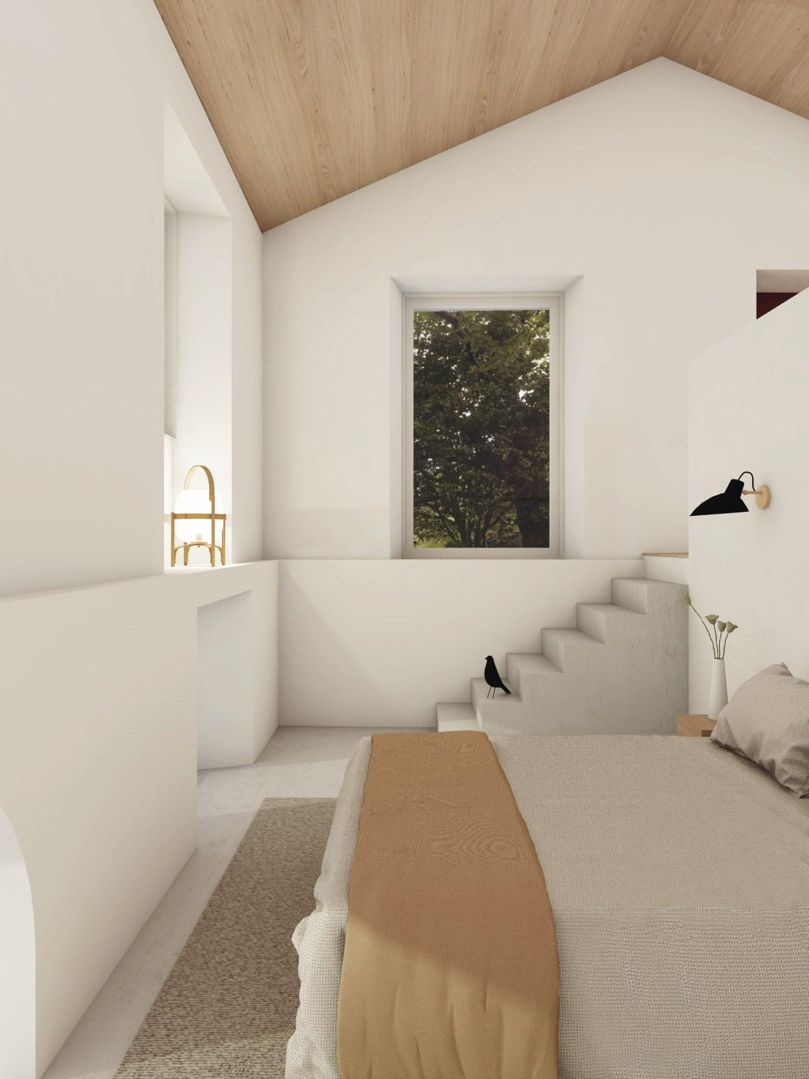 Interior of Casa da Gueixa