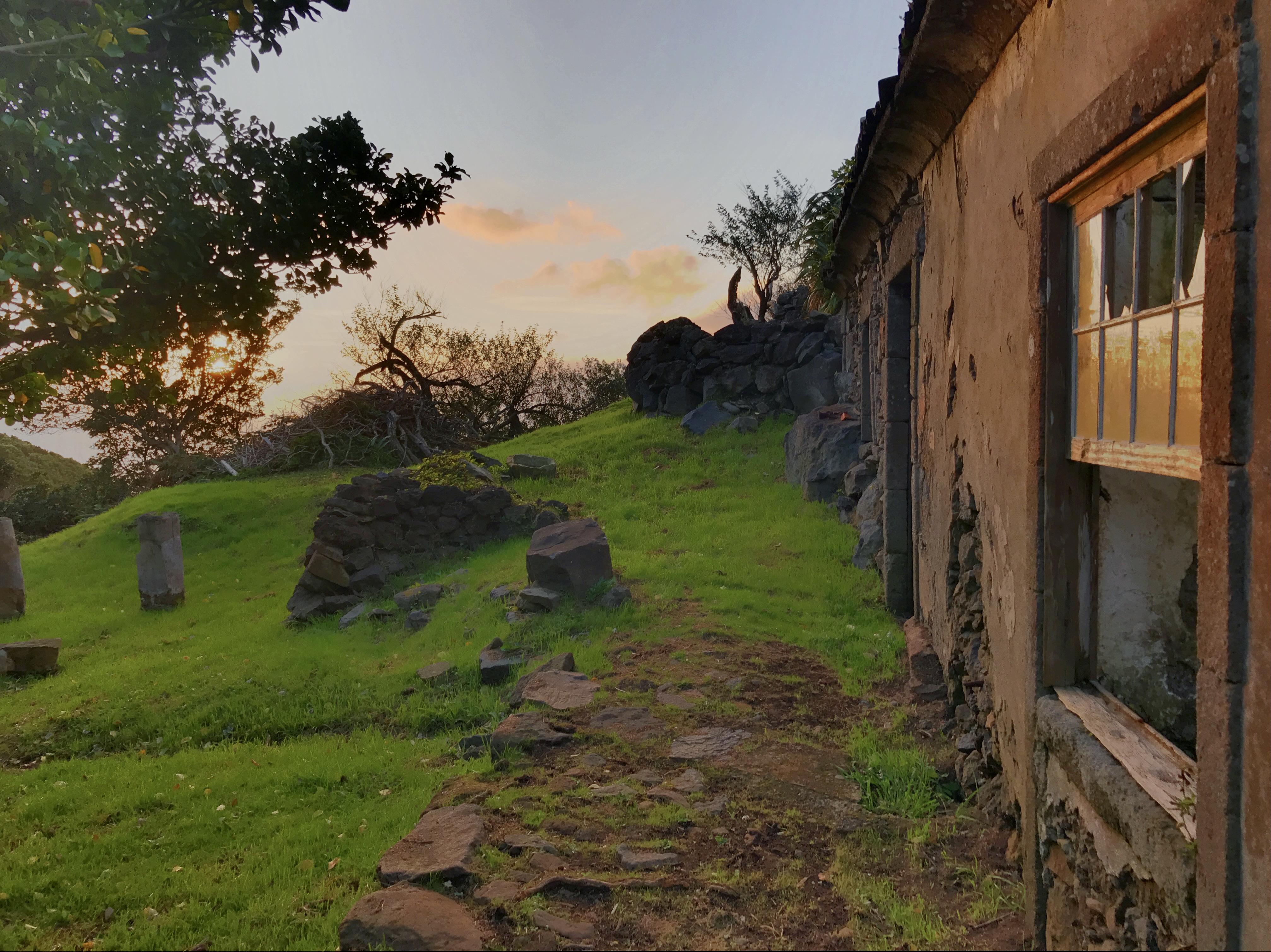 Casa da Ganhoa at sunset