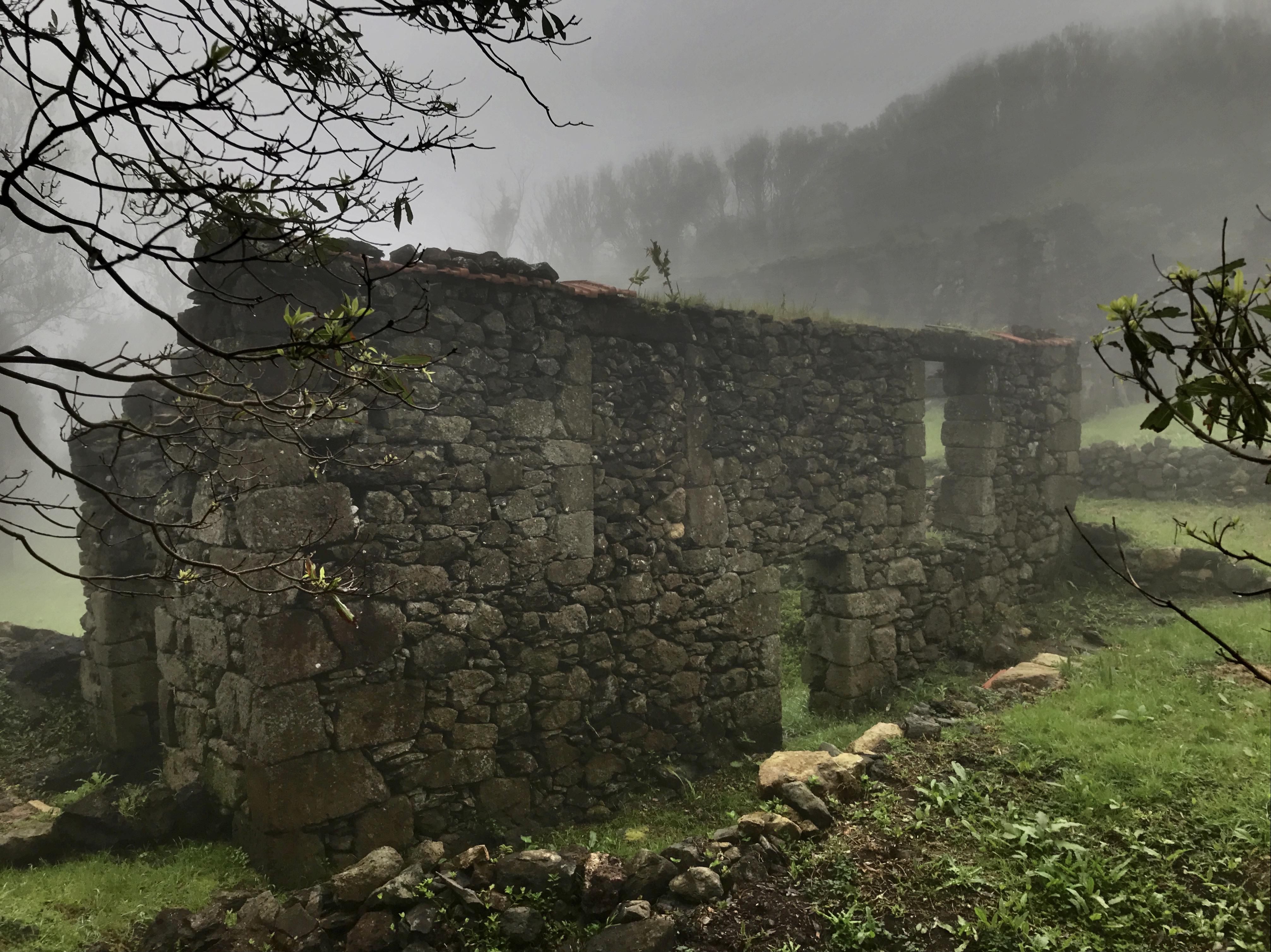 Casa das Levadas under mist