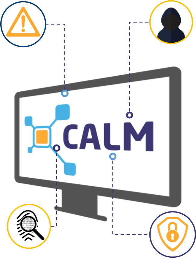 Calm security features