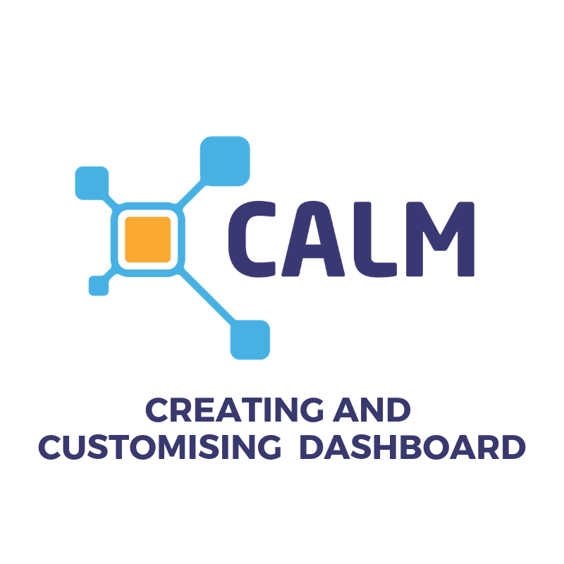 Creating and Customising Dashboards