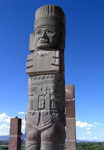 Escultura Tolteca