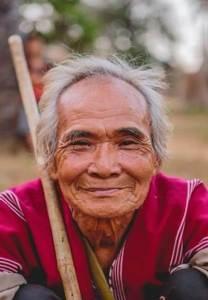 Anciano indígena