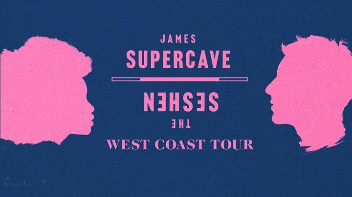 James Supercave, The Seshen at The Casbah – San Diego