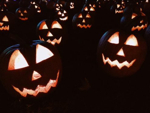 Several jack 'o lanterns at night. Phobias can come in many ways, but Halloween is a holiday that explicitly weaponizes them against people for fun. The California OCD and Anxiety Treatment Center treats all phobias and fears in Fullerton, as well as through online therapy, group therapy, and intensive out-patient treatment in Orange County, California.
