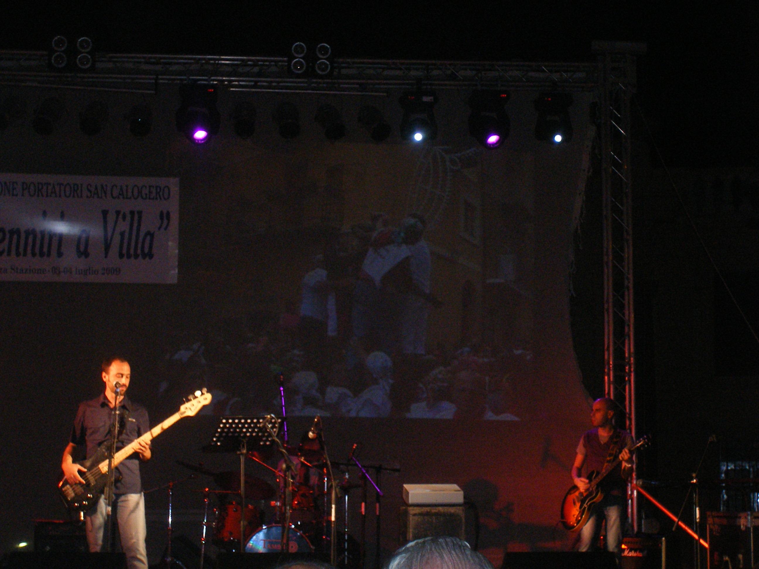 U Venniri a Villa - gruppo rock