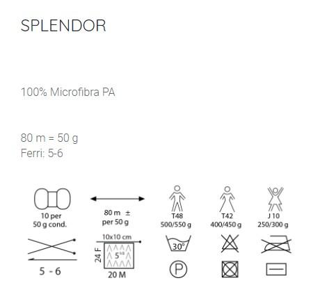 composizione Splendor Mondial