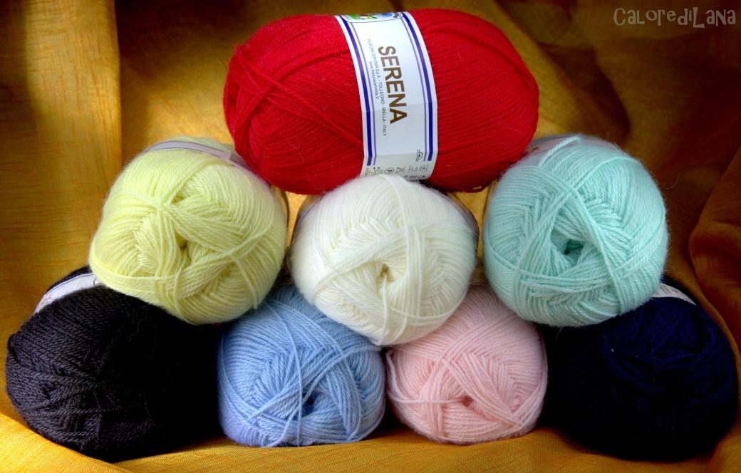 Lana Cervinia SERENA 50%lana 50%acrilico
