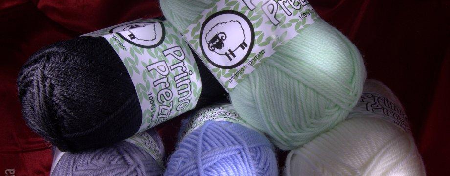 """Lana """"Primo Prezzo"""" Superwash 100% lana, 50 gr, 100 metri, Ferri consigliati: 4 – 4,5. Acquista online su Calore di Lana www.caloredilana.com"""