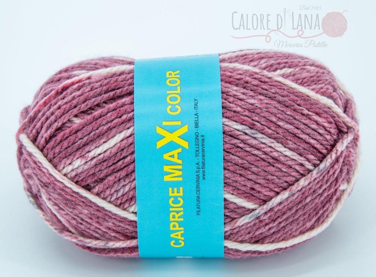 Col. 02 Caprice Maxi Color - Calore di Lana www.caloredilana.com