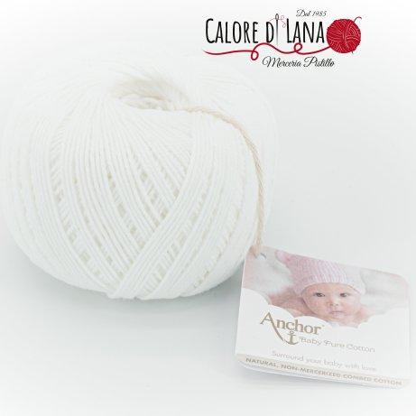 Col. 1131 Anchor Baby Pure Cotton - Calore di Lana www.caloredilana.com