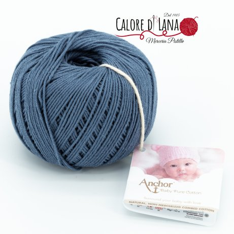Col. 269 Anchor Baby Pure Cotton - Calore di Lana www.caloredilana.com
