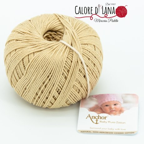 Col. 404 Anchor Baby Pure Cotton - Calore di Lana www.caloredilana.com