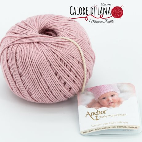 Col. 423 Anchor Baby Pure Cotton - Calore di Lana www.caloredilana.com