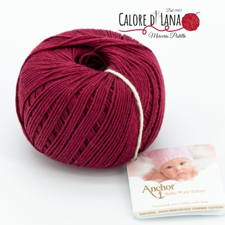 Col. 425 Anchor Baby Pure Cotton - Calore di Lana www.caloredilana.com