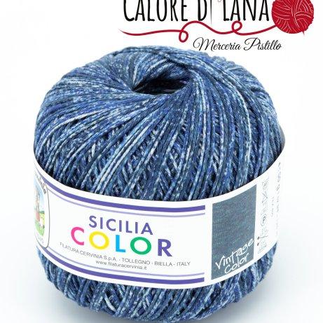 Cotone Sicilia Color Cervinia - Calore di Lana www.caloredilana.com