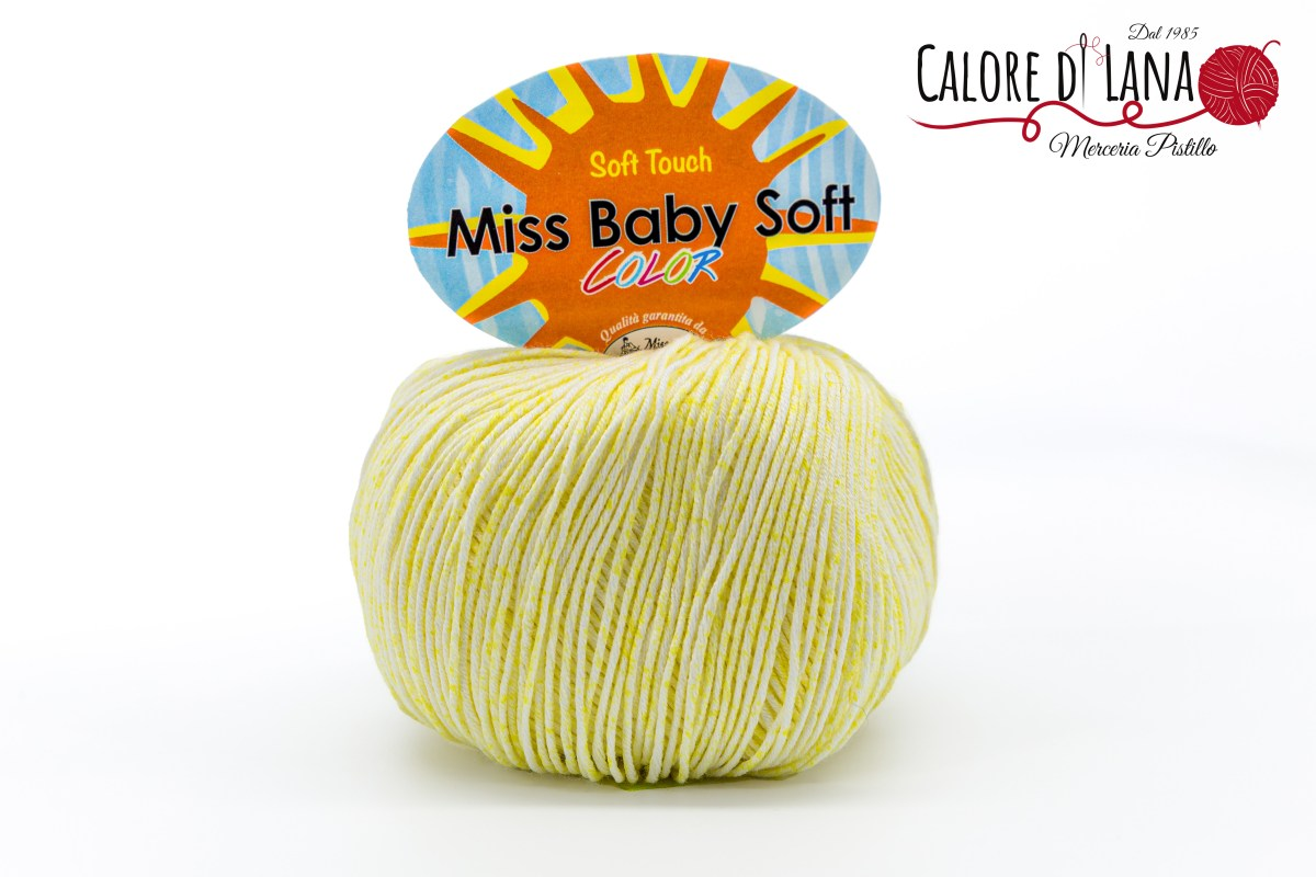 Miss Baby Soft Color Miss Tricot Filati - Calore di Lana www.caloredilana.com
