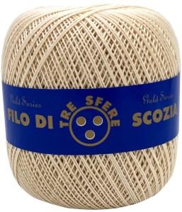 Cotone Filo di Scozia per uncinetto tit. 8 - Calore di Lana www.caloredilana.com