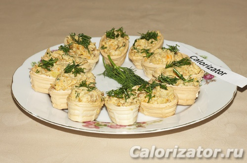 Тарталетки с грибами и сыром - как приготовить, рецепт с ...