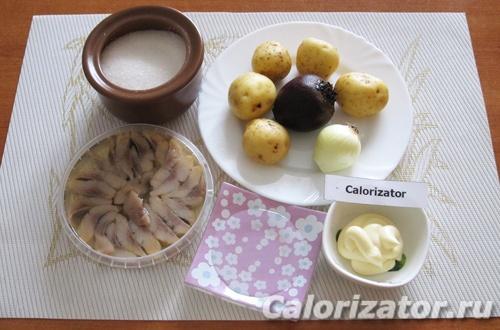 Картофельные тарталетки с сельдью - как приготовить ...